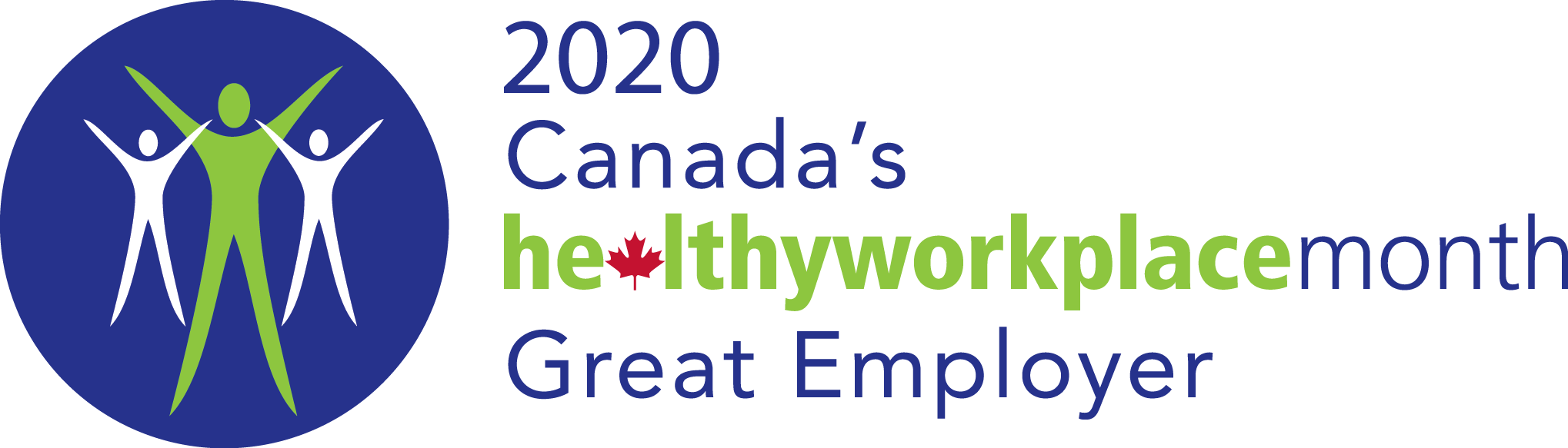 2020 Canada's Healthworkplace Month Great Employer