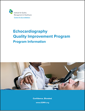 Program Information: Echocardiography Quality Improvement Program