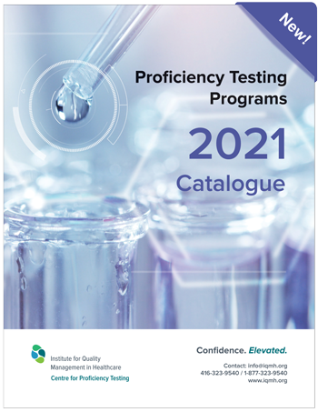 Proficiency Testing Programs 2021 Catalogue